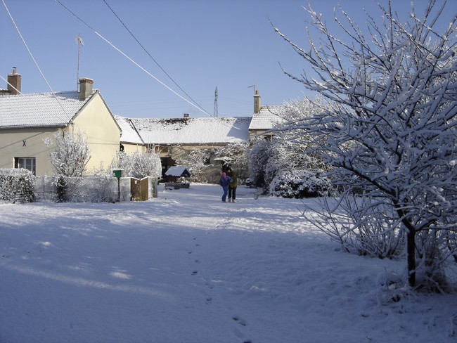 La neige en hiver en 2010