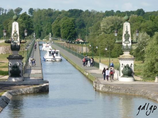 Briare: Le pont-canal