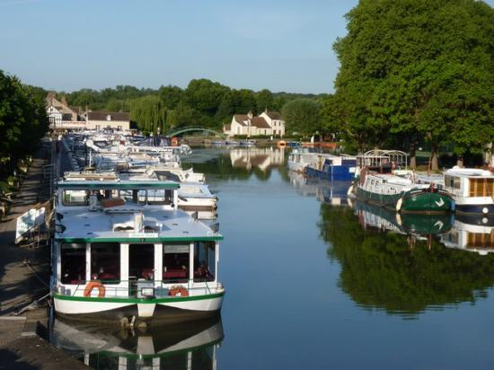 Briare: Le port de plaisance