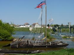Jargeau : les bateaux de loire